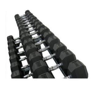 heksagonalne bučice komplet 2,5 do 40kg